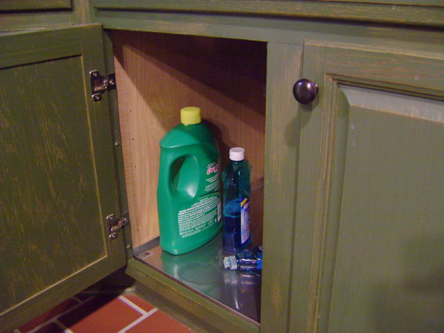 Fitted Stainless Under Sink Deck Liners - Kitchen Drawer Dividers - other metro - by Bradco ...