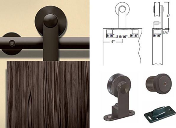 Barn door hardware barn door hardware bronze - Contemporary interior door knobs ...
