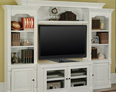 Parker House Premier Alpine 4 Piece Premier Wall traditional-media-storage