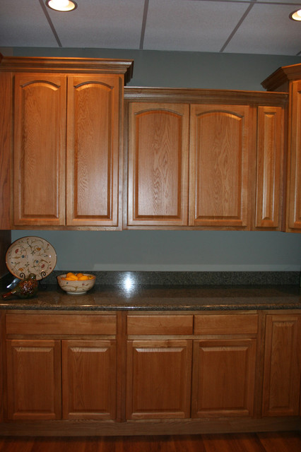 Legacy Oak Kitchen Cabinets Home Design traditional-kitchen-cabinets
