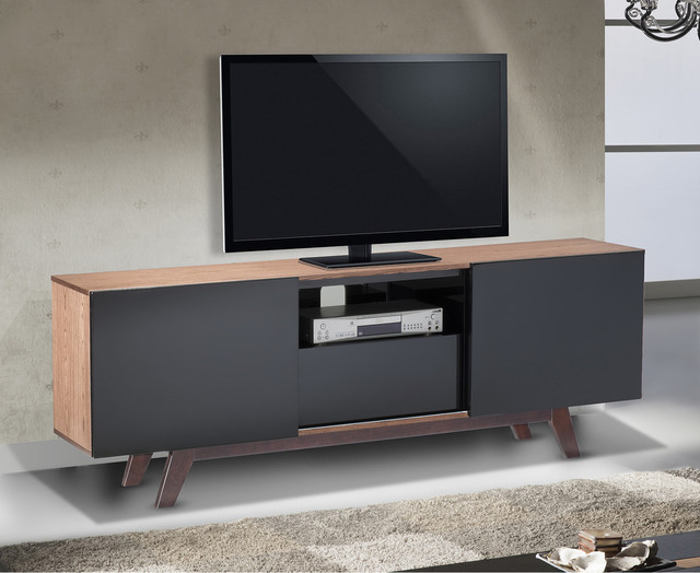 Modern 70 Inch Tv Stand Media Console Contemporary Entertainment Centers And Tv Stands By