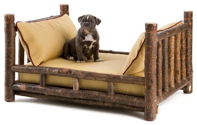 Rustic Dog Beds from La Lune Collection - Rustic - Dog Beds - milwaukee - by La Lune Collection