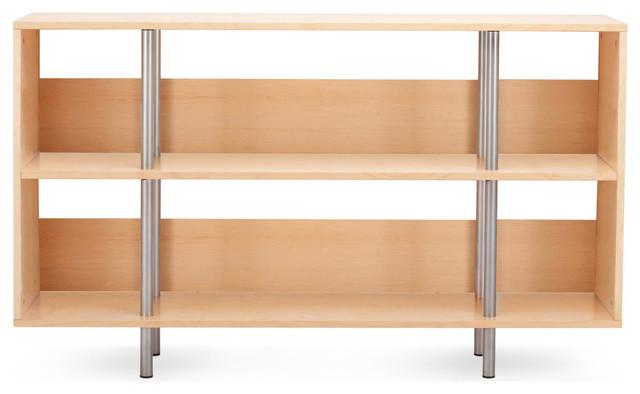 Blu Dot Chicago Lowboy, Maple - Modern - Bookcases - by Blu Dot