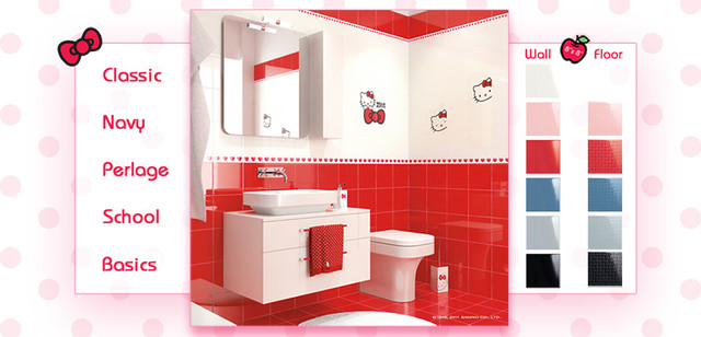 Hello Kitty Tile - Modern - by American Tile and Stone/Backsplashtogo