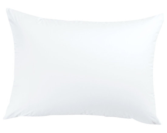 Luxor Linens - San'T Agnello Hypo-Allergenic Down Pillow - If you enjoy the plush feeling of down but suffer from allergies, this hypoallergenic pillow is for you. Filled with a breathable down alternative encased in a silky microfiber shell, it's the ultimate option for your beauty rest.