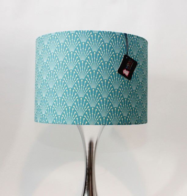 art deco drum lamp shade eclectic lamp shades vancouver by. Black Bedroom Furniture Sets. Home Design Ideas