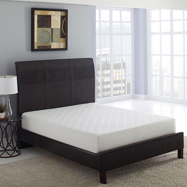 Bodipedic Essentials 10-Inch Queen-Size Memory Foam Mattress contemporary-mattresses