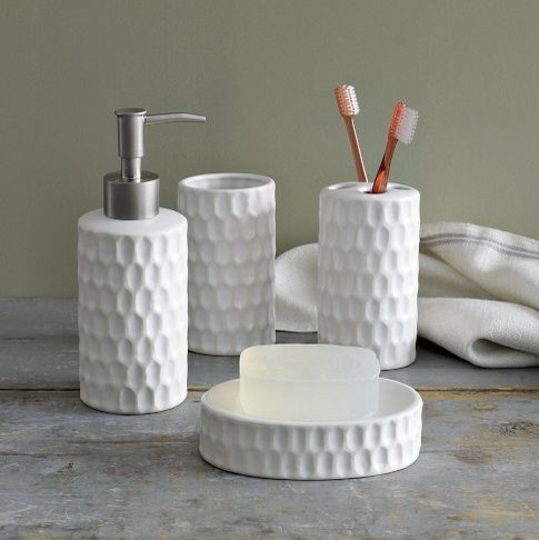 Honeycomb Bath Accessories Modern Bathroom Accessories By West Elm