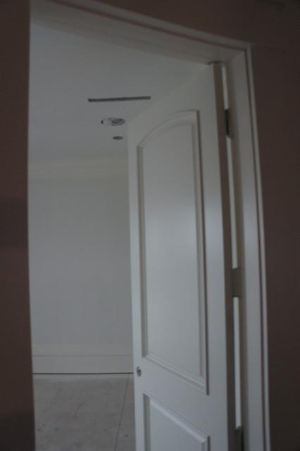 2 Panel Arch Top Raised Bolection Molding - Contemporary - Interior Doors - vancouver - by Doorex