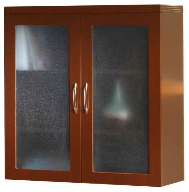 Glass Display Cabinet - Contemporary - Display And Wall Shelves - by ...