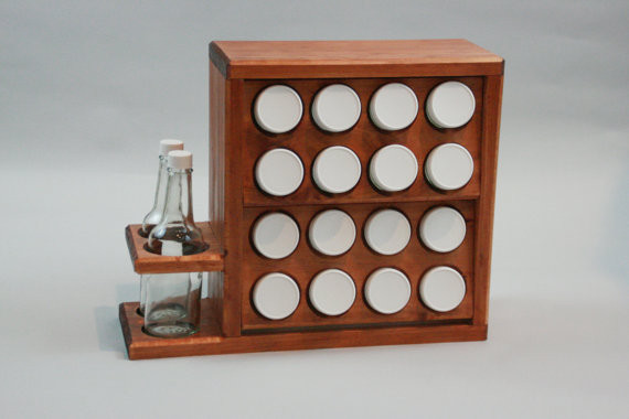 Contemporary Spice Jars And Spice Racks by Etsy