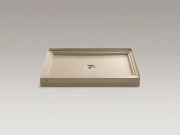 """KOHLER Tresham(R) 48"""" x 36"""" single threshold center drain shower base contemporary-shower-pans-and-bases"""