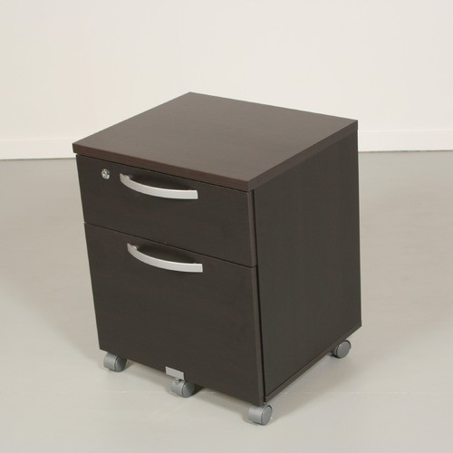 Pierce Office Mobile File in Coffee - Modern - Filing Cabinets And Carts - by Wayfair
