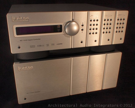 System Components - The MC-12HD paired with a RX-7 Amp is the cornerstone for a wonderful home theater.