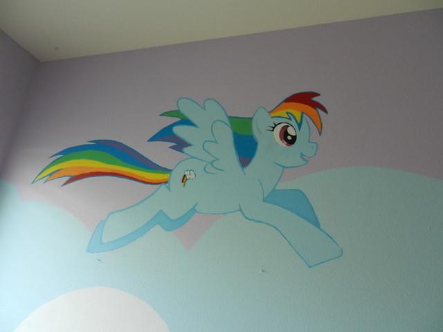 my little pony s mural my little pony s mural