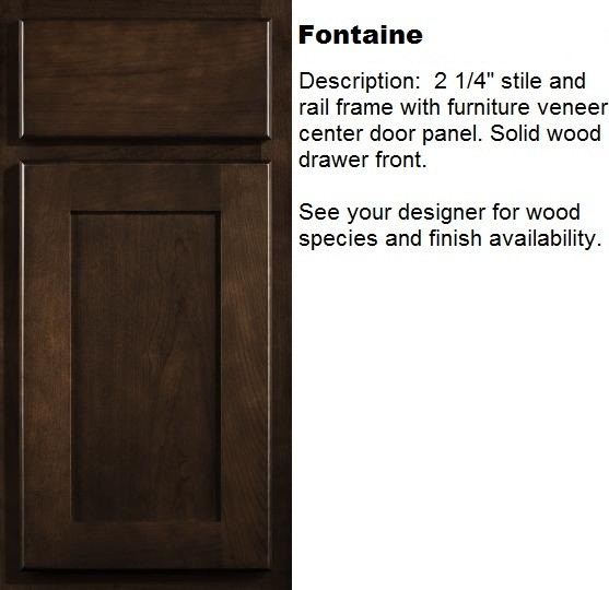 Fontaine  kitchen cabinets