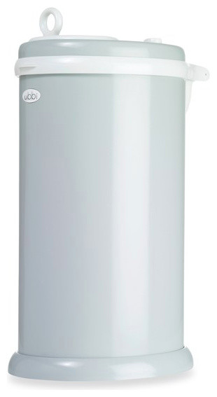 Ubbi Diaper Pail, Gray modern nursery decor