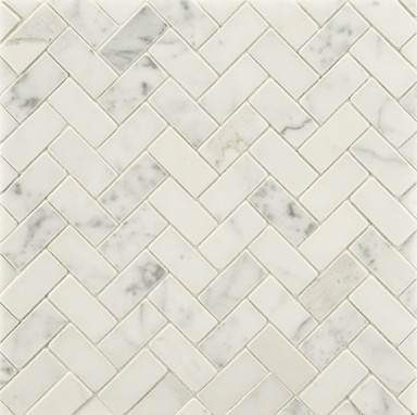 Statuary Stone Mosaic traditional bathroom tile