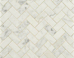 Statuary Stone Mosaic traditional-tile