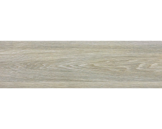 "Vintage Wood - Ash - A classic and simple wood look porcelain tile produced with ink jet technology to perfectly replicate the look of real wood in a durable porcelain 6"" x 36"" plank tile."