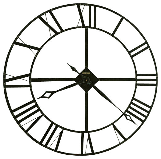 howard miller 32 39 39 wrought iron wall clock lacy
