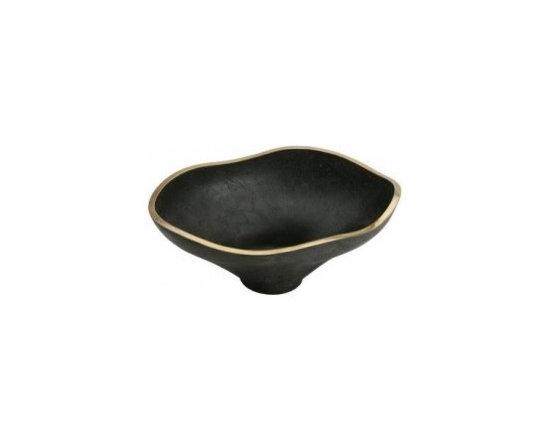 "Asian Style Bathroom - Elkay ECB1812BA Asana Cast Brass 18-7/16"" Lavatory Vessel Sink: Bronze Aged"