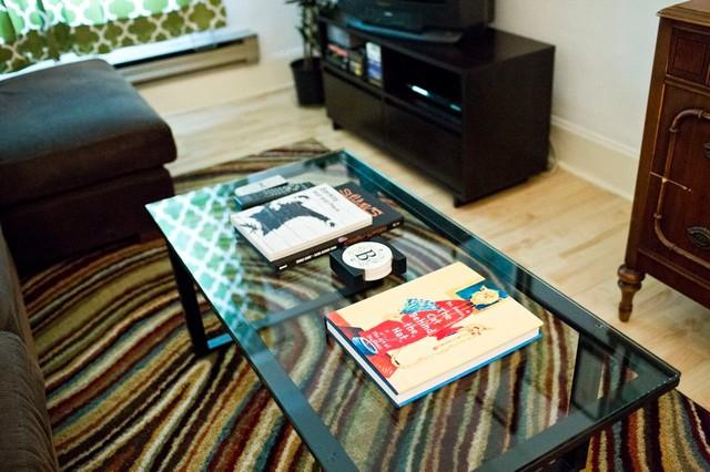Queen Anne Rental eclectic-living-room