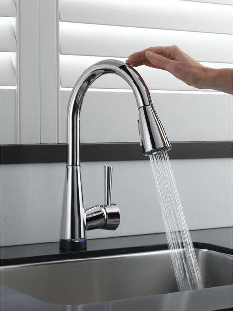 Contemporary kitchen faucet afreakatheart for Best kitchen sinks and faucets