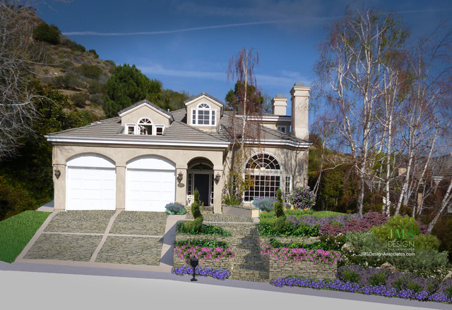 Pacific Palisades II traditional-landscape