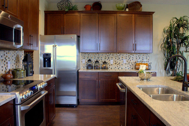 Tampa Model Homes traditional-kitchen