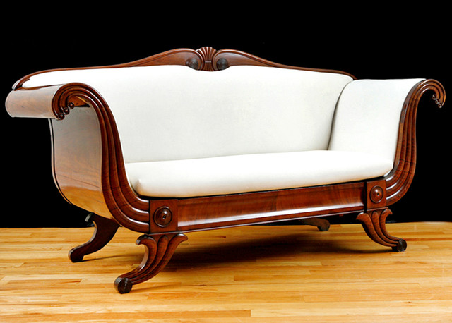 Antique Furniture Traditional Sofas miami by