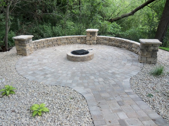 Landscaping Ideas traditional-firepits