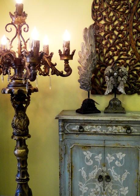 Floor lamps in houston inventrush traditional floor lamps la reyna floor candelabra traditional floor lamps houston aloadofball Gallery