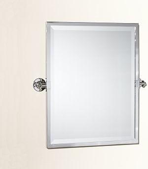 Kensington Pivot Mirror Rectangle Chrome finish