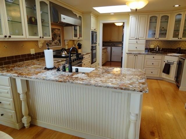 Bainbridge Island East Waterfront Home traditional-kitchen