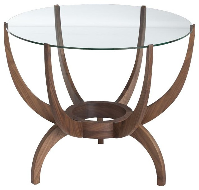 Oswald End Table, Walnut modern-side-tables-and-end-tables