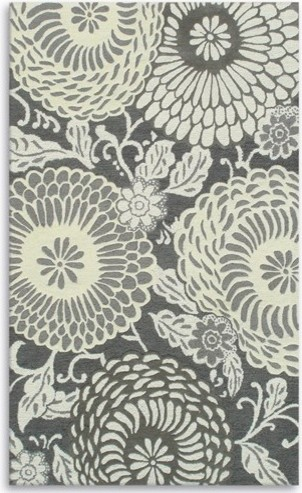 Camden Pom Pom Gray & Off White Rug eclectic-rugs
