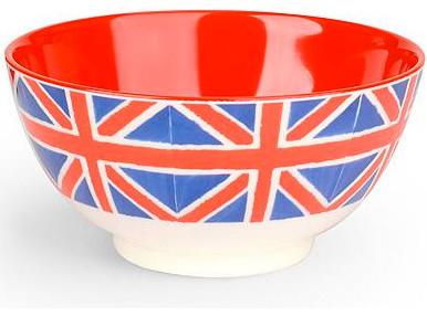 Emma Bridgewater Pottery Union Jack Picnic Bowl eclectic-serveware