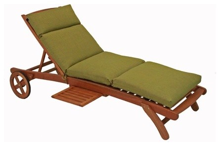 Chaise Lounge Cushion modern-outdoor-chaise-lounges