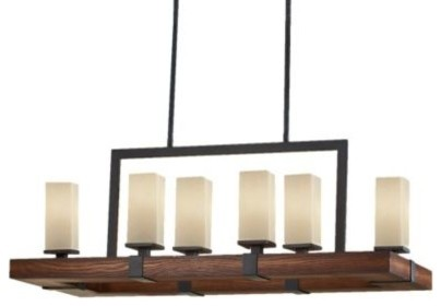 Madera Linear Suspension by Murray Feiss  frames