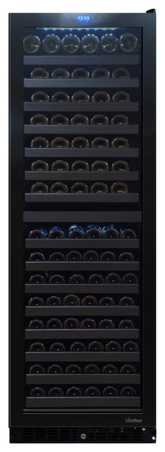 142 Bottle Dual-Zone Touch Screen Wine Cooler contemporary-refrigerators-and-freezers