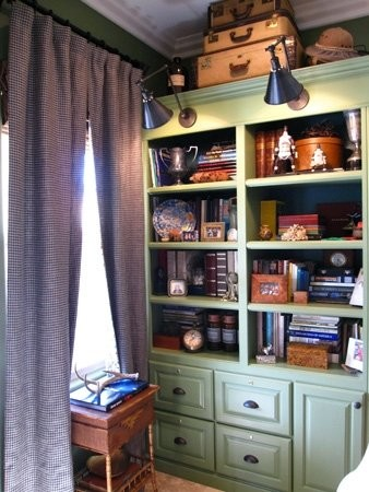 Town and Country traditional-home-office