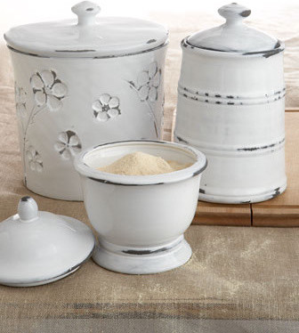 Three Mix-&-Match Canisters traditional-food-containers-and-storage