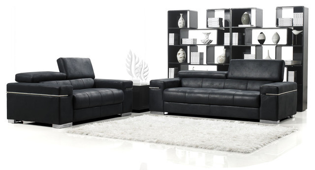 black angelo suede sofa with loveseat contemporary