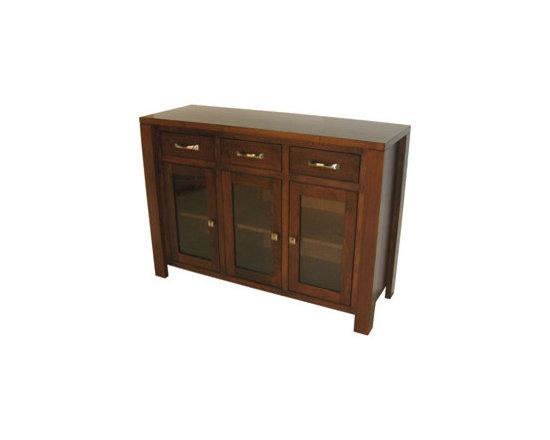 Creative Home Furnishings - Boxwood Furniture - Boxwood Mid-Size Server