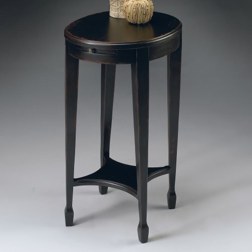 Butler Accent Table 26H in. - Plum Black contemporary-side-tables-and-end-tables