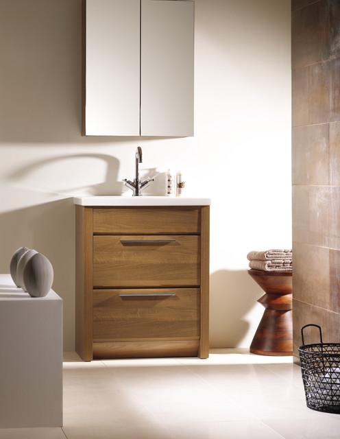 Kato 24 inch bath vanity. Walnut. contemporary-bathroom-vanities-and-sink-consoles