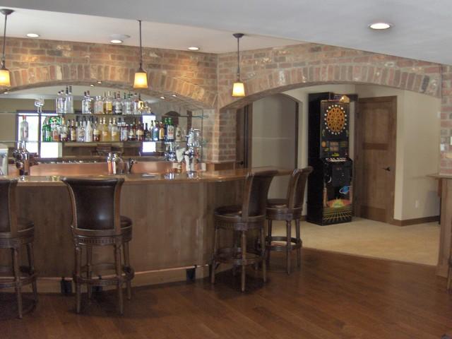 Award-Winning Residential Interior Under $100,000 traditional-basement