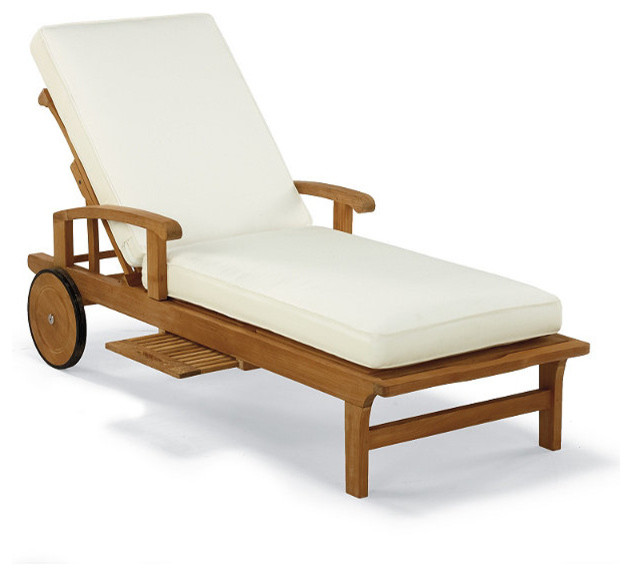 Cassara Outdoor Chaise Lounge Chair with Cushions - Frontgate ...