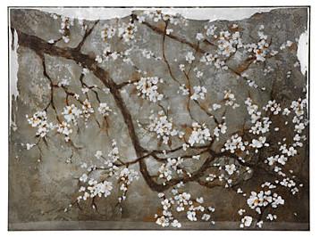 Blossoming Petals - Glass Coat asian-prints-and-posters